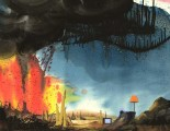 Pink Floyd The Wall: The Alien Landscape