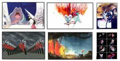 Pink Floyd The Wall: Set of 6 prints