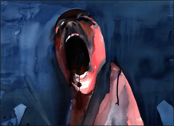 Pink Floyd The Wall: The Scream | Gerald Scarfe